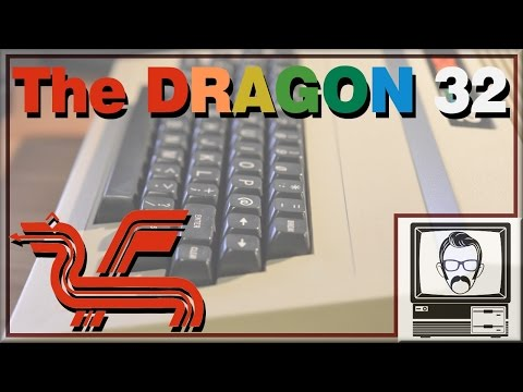 The Dragon 32/64 Story - The UK Tandy Color Computer | Nostalgia Nerd