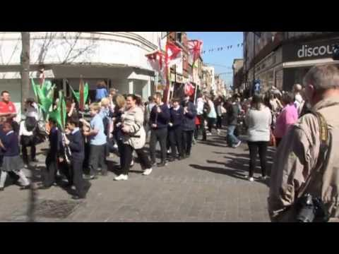 Gravesham's St George's Day parade