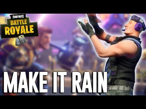 Make It Rain!!  Fortnite Battle Royale Gameplay  Ninja