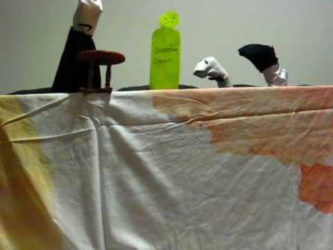 Loving v. Virginia puppet show