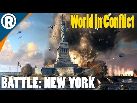 BATTLE FOR NEW YORK - World in Conflict: Soviet Assault - Mission 15