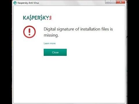 kaspersky license is missing 2017