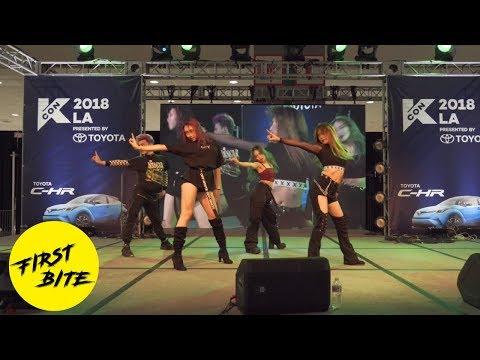 BLACKPINK - Ddu Du Ddu Du + Forever Young Dance Cover Performance at KCON LA 2018