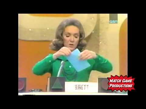 Match Game 74 (Episode #122) (Wacko Contestant Part II)