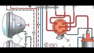 видео Схема электрооборудования ваз 2106