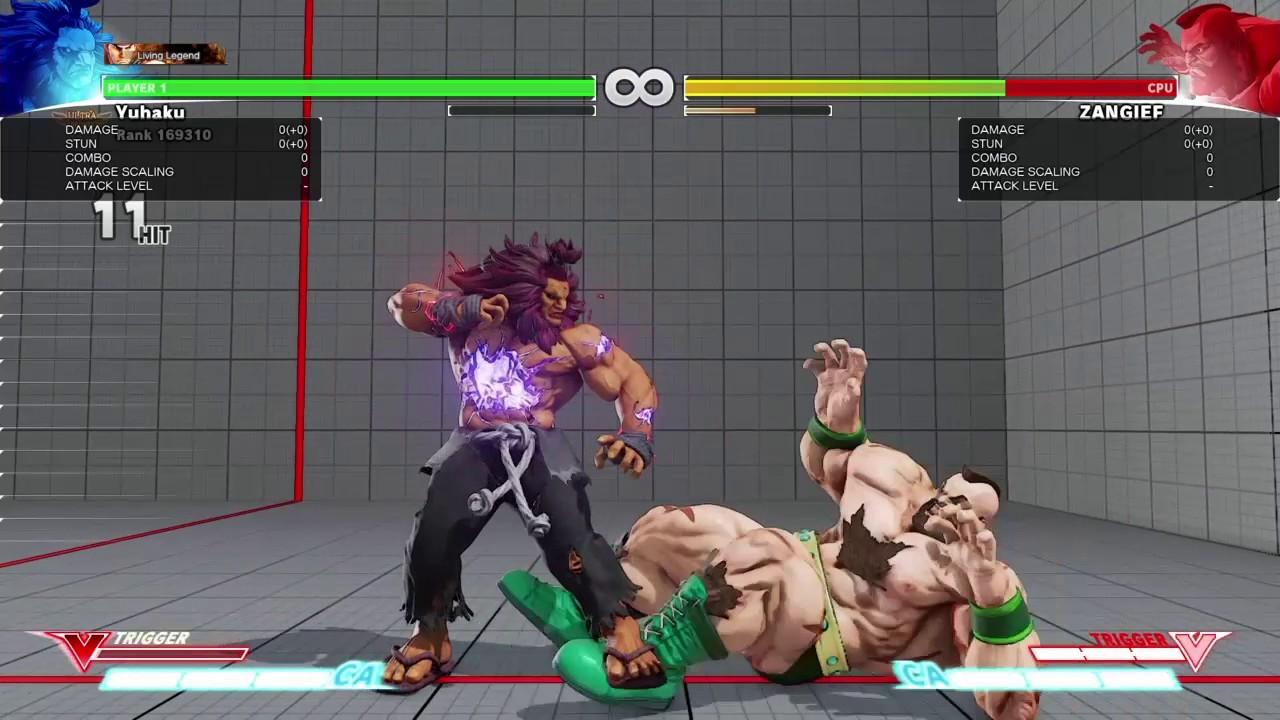 Street Fighter 5 Cool Akuma Combos Youtube