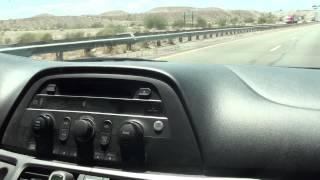 ROAD TRIP! Driving from Gilbert, AZ to Six Flags Magic Mountain