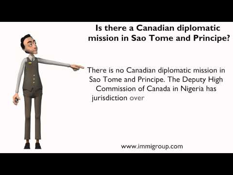 Is there a Canadian diplomatic mission in Sao Tome and Principe?