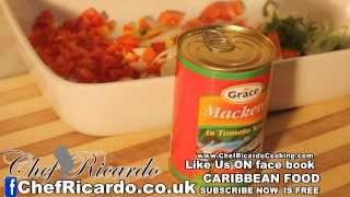 Tin Mackerel In Tomato Sauce & Spaghetti | Recipes By Chef Ricardo