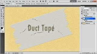 How to Create a Duct Tape Effect in Photoshop