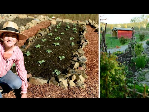 A spring tour through the COTTAGE GARDENS & MARKET GARDEN   Come garden with me!