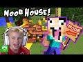 Minecraft HOBBYNOOB House Build on HobbyKidsGaming