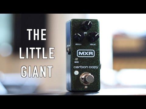 A Mini Pedal You Will Love! The MXR Carbon Copy Mini.