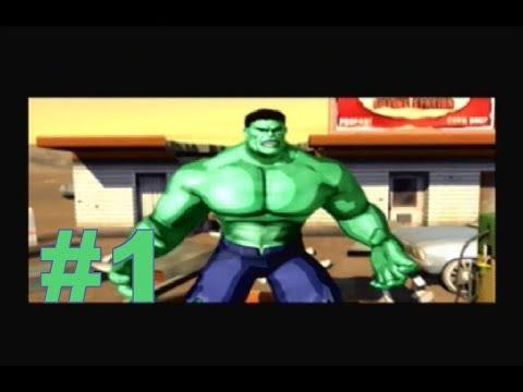 HULK - Walkthrough Part 1 - [HD] (PS2/Xbox/GameCube/Windows)
