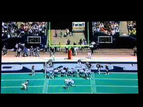 1985 Cleveland@Dallas Danny White catches a TD from James J