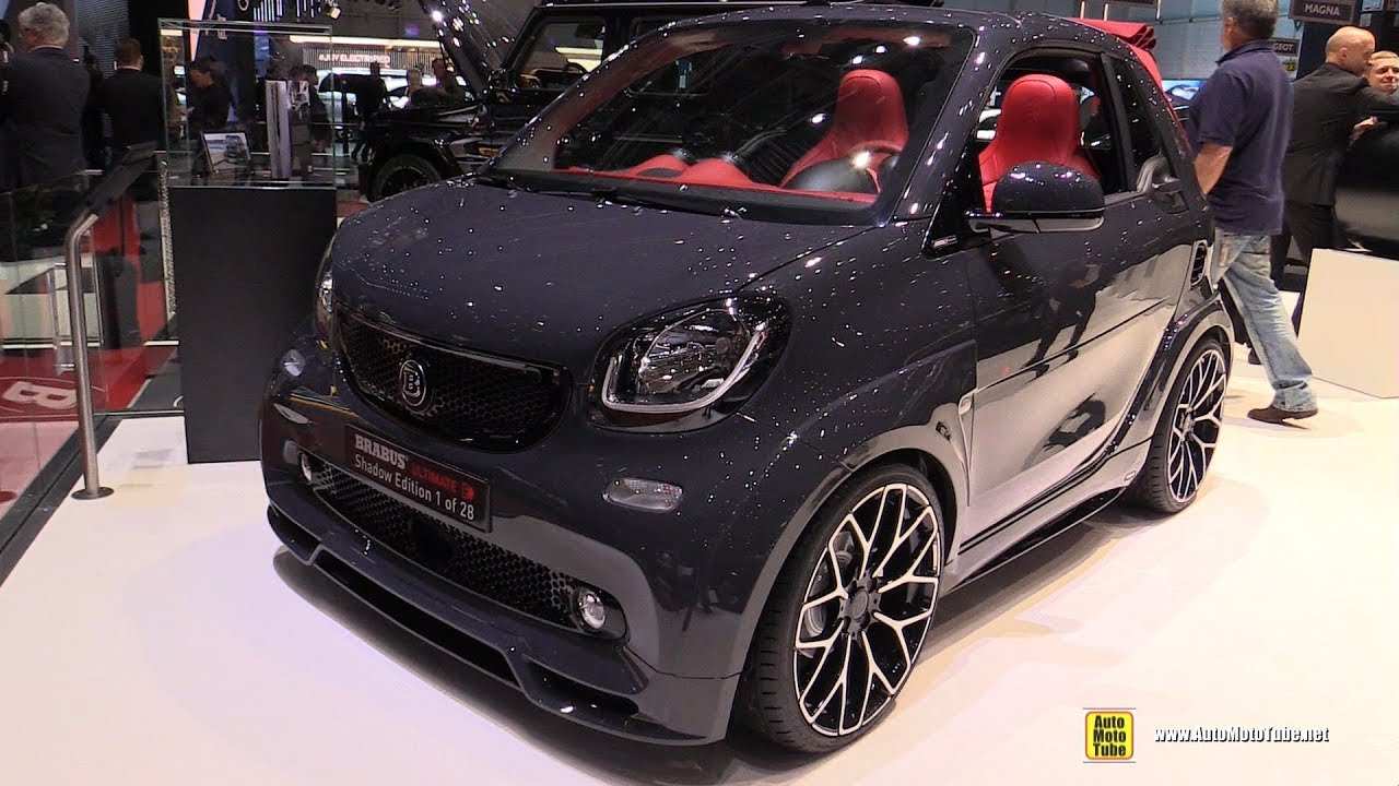 2019 smart brabus ultimate e shadow edition exterior interior walkaround 2019 geneva motor. Black Bedroom Furniture Sets. Home Design Ideas