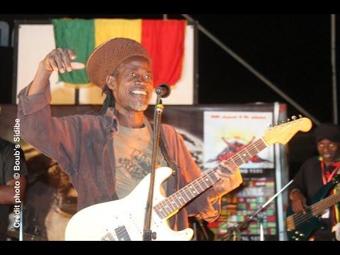 Koko Dembélé en live au Festival Reggae du Mali 2015