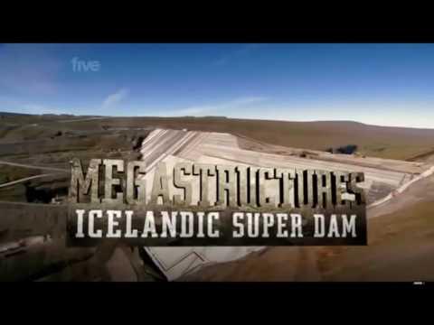 Icelandic Dam Being Built Documentary