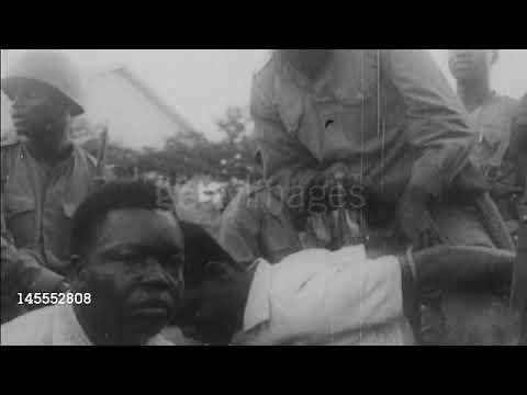 Patrice Lumumba Captured By Troops Loyal To Colonel Joseph Mobutu | December 1960