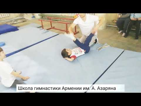Gymnastics of Armenia 2018 (practice in Azaryan sport school) Artur Davtyan and co.