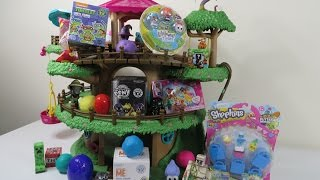 Shopkins Minecraft Lalaloopsy Disney Palace Pets Blind Bag Treehouse Unboxing