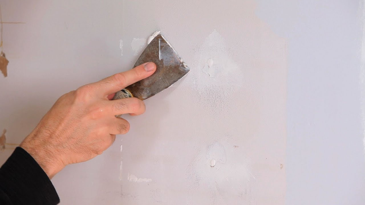 How to Fix Small Holes  Drywall Repair