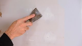 How to Fix Small Holes | House Painting