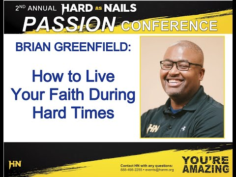 Brian Greenfield - HN Passion Conference 2020