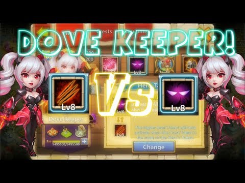 Sunder VS Unholy Pact On Dove Keeper Which Is Better? Castle Clash