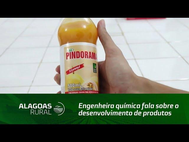Engenheira química fala sobre o desenvolvimento de produtos da Cooperativa Pindorama