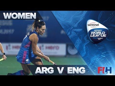 Argentina v England - Sentinel Homes Hockey World League Final - Auckland, New Zealand