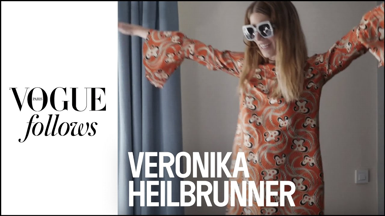 Veronika Heilbrunner dresses for lunch  |  VOGUE PARIS