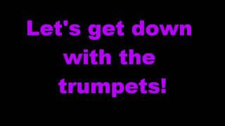 Rizzle Kicks-Down With The Trumpets Lyrics Thumbnail