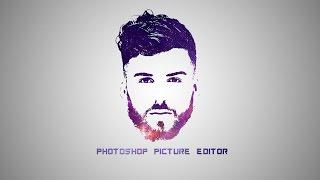 Photoshop-Tutorial - Galaxy-Logo-Design-Aus-Gesicht