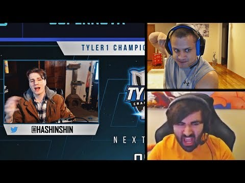 TYLER1 ON HOW HASHINSHIN WAS CASTING TCS GAMES | VOYBOY'S NEW CHAMP: ANOTHER SHIELD | LOL MOMENTS