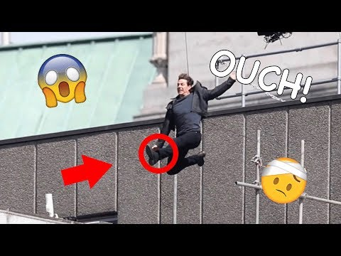Tom Cruise's Top 10 On-Set Injuries (GONE WRONG)
