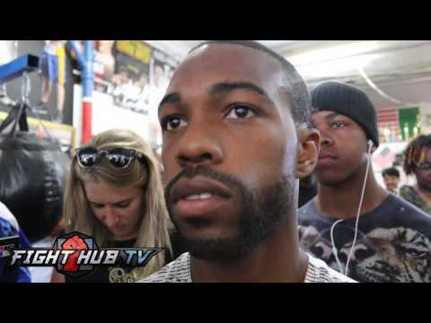 Gary Russell Jr. says if Lomachenko gets over anxious he will KO him