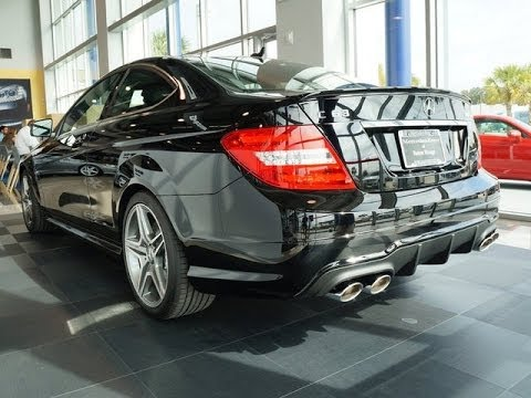 2014 mercedes benz c63 amg coupe exterior interior in depth review youtube. Black Bedroom Furniture Sets. Home Design Ideas