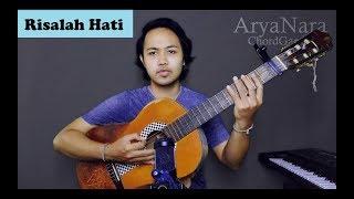 Chord Gampang (Risalah Hati - Dewa 19) by Arya Nara (Tutorial)