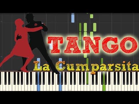 La Cumparsita  Gerardo Matos Rodríguez Piano Tutorial Synthesia