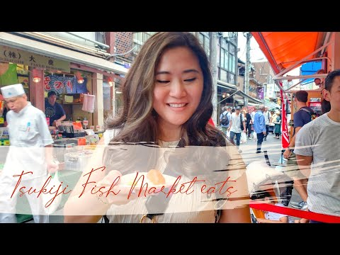 Tsukiji Fish Market Street Food Adventure - Japan Eats (Bonus: How Not To Eat Sushi)