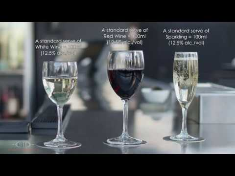 What Are The Standard Serves Of Wine