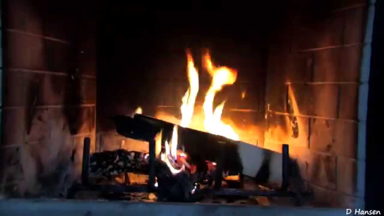1 hour burning logs in fireplace in hd youtube