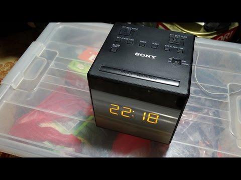SONY FM AM CLOCK RADIO (ICF-C1T)