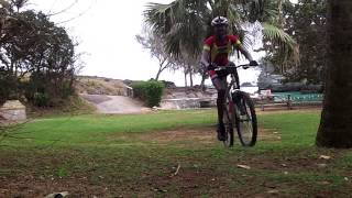 2012 Admiralty House MTB course
