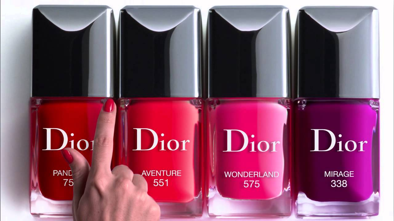 Comercial Dior Vernis - YouTube