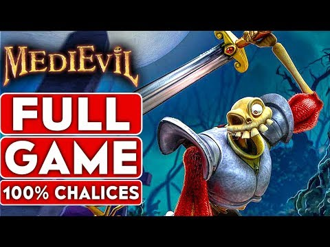 MEDIEVIL REMAKE PS4 100% Gameplay Walkthrough Part 1 FULL GAME [1080p HD 60FPS] - No Commentary