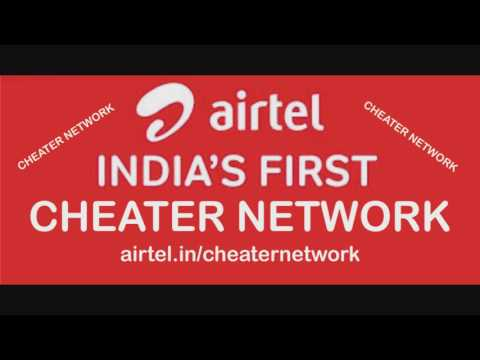 Airtel India's No 1 cheater network