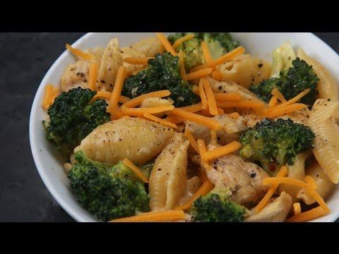 Cheesy Chicken And Broccoli Pasta