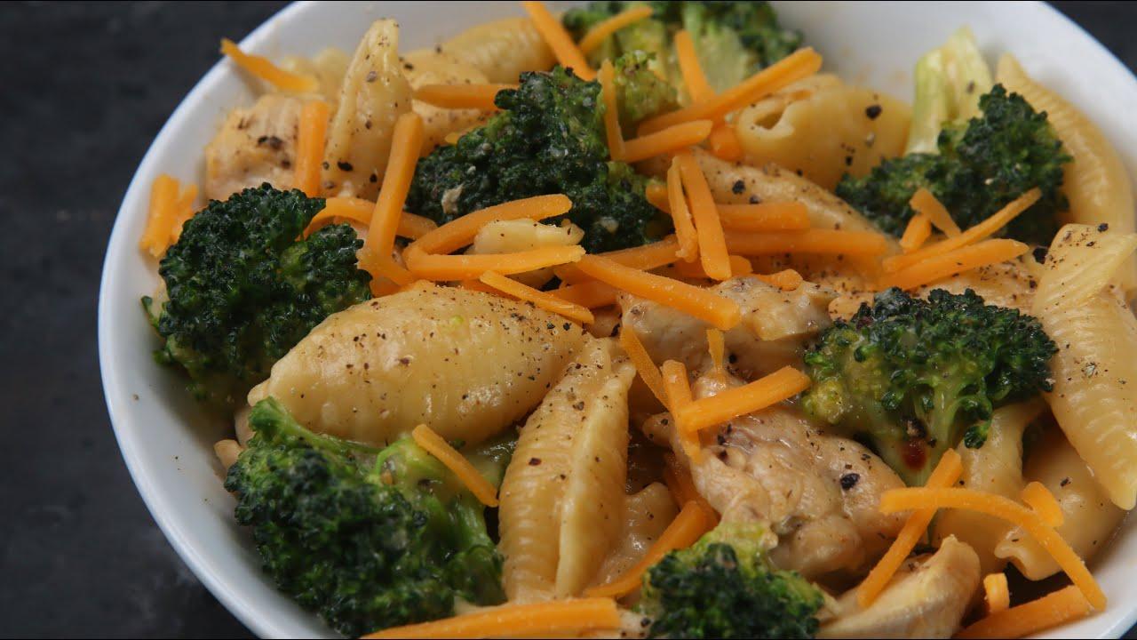 Broccoli cheese pasta recipe
